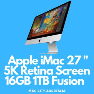 """Apple iMac 27"""" 5K Retina Screen 16GB 1TB"""