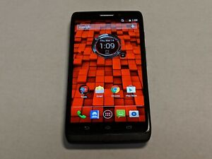 Motorola Droid Ultra XT1080 16GB Black/Gray Verizon Smartphone/Cell Phone