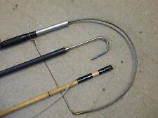 Vintage Fishing Gaff,  Tailer/ Wading staff + L/weight Bamboo stick
