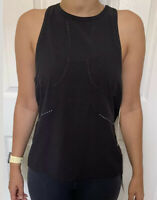 Lululemon Size 6 Find Your Pace Tank Black BLK Swiftly Run Speed Layer Yoga