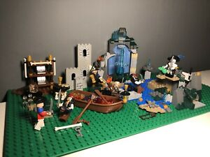 LEGO Pirates Of The Caribbean Bundle Of Sets + Rare Minifigures