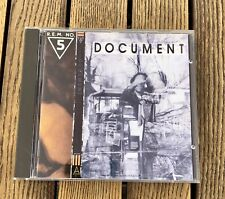 R.E.M. - DOCUMENT (1987, I.R.S. Records) used CD VERY GOOD PLUS (VG+)