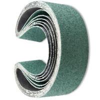 6 X 2x48 Inch 36 Grit Metal Grinding Zirconia Sanding Belts, 6 Pack For Sander