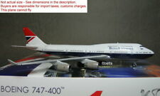 Phoenix quality 1/400 British Airways B747-400 100 G-CIVB #04296 Metal Plane