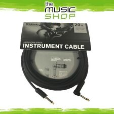 Planet Waves 20ft American Stage Instrument Cable - R/A Guitar Lead - AMSGRA-20