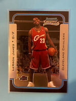 2003-04 bowman chrome lebron james Rookie