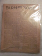 May 15, 1907  issue Farm and Home magazine The Sharples Separator Co. Advertisem