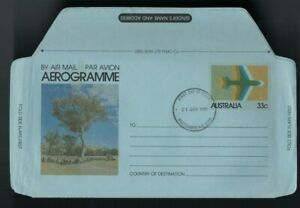 1981 Areogramme FDC 33c