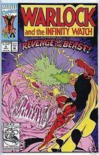 Warlock and the Infinity Watch 1992 series # 6 near mint comic book
