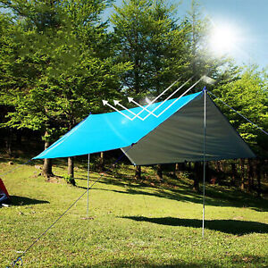 Fly Tarp Super Light Moisture-proof Multi-function Practical Canopy for Camping