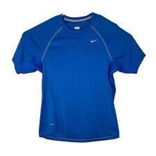 Men's Nike Golf Small Blue Short Sleeve Top NikeFit Dry