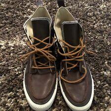 Converse Leather Hi Top Boot Size 10 Men's
