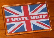 I Vote UKIP Union jack flag UK Independence Party fridge magnet