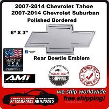 2007-2014 Suburban & Tahoe Polished Bordered Bowtie Rear Emblem AMI 96098P
