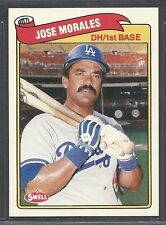 1989 Swell Baseball Greats - #38 - Jose Morales - Los Angeles Dodgers