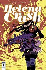 HELENA CRASH #1 (OF 4) SUBSCRIPTION VARIANT IDW PUBLISHING 1st Print 15/3/17 NM