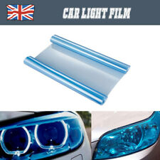 Light Blue 30x120cm Car Headlight Tint Film Taillight Tail Vinyl Wrap Fog Light