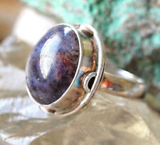 Mächtig Silberring 52 Sternrubin Rot Braun Handarbeit Verspielt Silber Ring