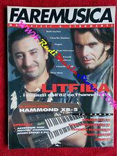Rivista FARE MUSICA 140/1993 Litfiba Bob Dylan Mau Mau Charlie Haden Vegas No cd