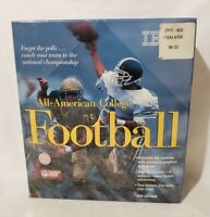 NEW All-American College Football (PC, 1995) - Retail Box - PC Game - MS-DOS