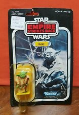 1980 KENNER vintage 41 Back YODA Star Wars MOC ESB (Brown Snake) rare