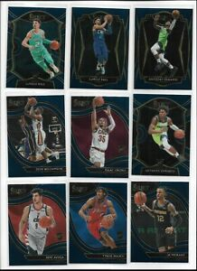 2020/21 Select Basketball Retail Blue Base Rookie Pick Your Player Complete Set