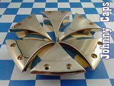 Baccarat Wheels Linc Gold Insert #636285F-3 Custom Wheel Center Cap Inserts (6)
