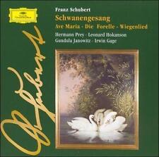 Schubert: Schwanengesang / Ave Maria / Die Forelle / Wiegenlied by