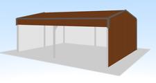 Steel Framed Buildings - Farm Building - 6m x 8m x 2.7m Field Shelter