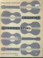 """"""" Leichtes Gitarrenspiel """"  Heft 2 von Walter Götze"""