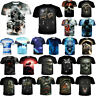 3D Print Fashion Men Funny Skull Halloween T-Shirt Casual Short Sleeve Tops Tee
