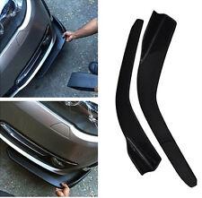 2PCS Winglet Type Carbon Fiber Front Bumper Lip Diffuser Splitters Canard-2609