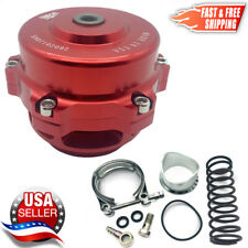 TiAL Style BOV 50mm Billet Blow Off Valve Version #1 RED | 2-3 Day Delivery USA