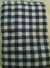 New Pottery Barn Kids NAVY Buffalo Check PILLOWCASE flannel blue