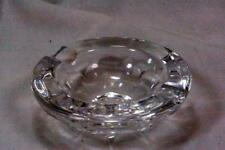 Faceted Lead Crystal Ashtray EUC
