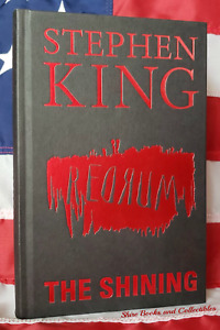 NEW Stephen King The Shining Hardcover Deluxe Gift Edition Redrum