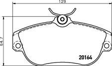Mintex Pastillas de freno Delantero mdb1532 - NUEVO- ORIGINAL- 5 años garantía