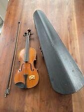 Alte Geige für Kinder + Bogen + Koffer