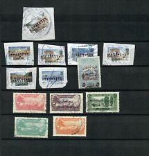 LIBAN FRENCH COLONIES COLLECTION POSTAL USED REVENUE STAMP LOT (LEB 718)