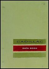 1964 Cadillac Data Book OEM Orignal Dealer Showroom Album for all models