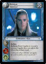 LOTR TCG Legolas Greenleaf 1R50 Fellowship of the Ring FOTR NEAR MINT FOIL