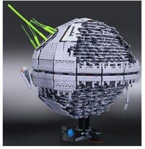 Compatible 3rd Party Brick Set Based On Star Wars Death Star II 10143 READ!