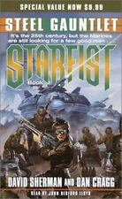 Starfist: Steel Gauntlet Bk 3 by David Sherman and Dan Cragg Cassette Sealed New
