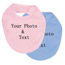 Personalized Baby Bibs printing CUSTOM PRINTED BABY BIBS full Cotton -Paceko