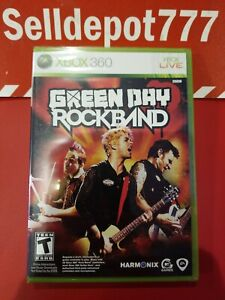 Green Day: Rock Band (Microsoft Xbox 360, 2010) Brand New