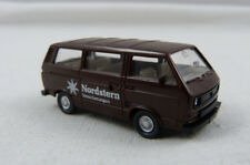 "VW Bus T3 ""Nordstern"" braun Wiking 1:87 H0 ohne OVP [FO]"
