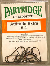 Partridge ATTITUDE EXTRA #4 ACS/E/S4 black 15 Haken Gr. #4