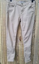 VINCE Skinny Jeans Beige Khaki 2nd Skin Size 28 100% Cotton Jegging Pants