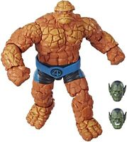 """🌟 NEW Hasbro Marvel Legends Series Fantastic Four The Thing 6"""" BAF"""