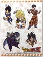 Dragon Ball Dbz Stickers Sticker Set Goku Vegeta Gohan Piccolo Anime License New